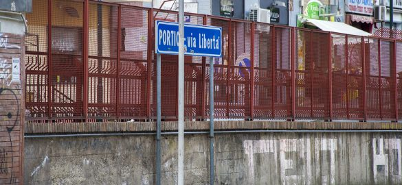Stazione circumvesuviana Portici Via libertà