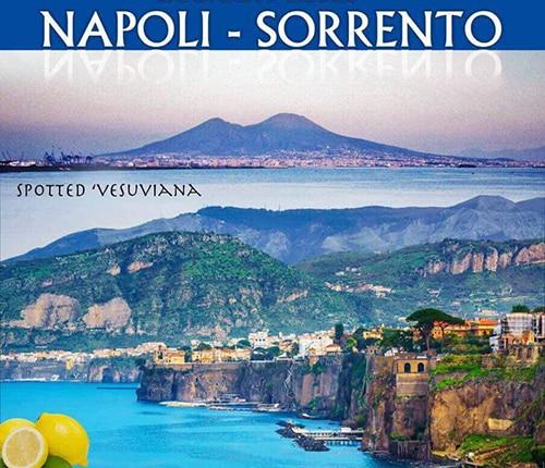 Viaggio in circumvesuviana Napoli Sorrento