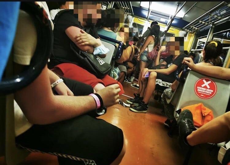 Vesuviana treni affollatissimi per andare a Sorrento