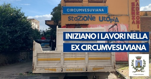 Ex stazione della circumvesuviana diventerà una caserma